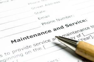 elevator maintenance contract